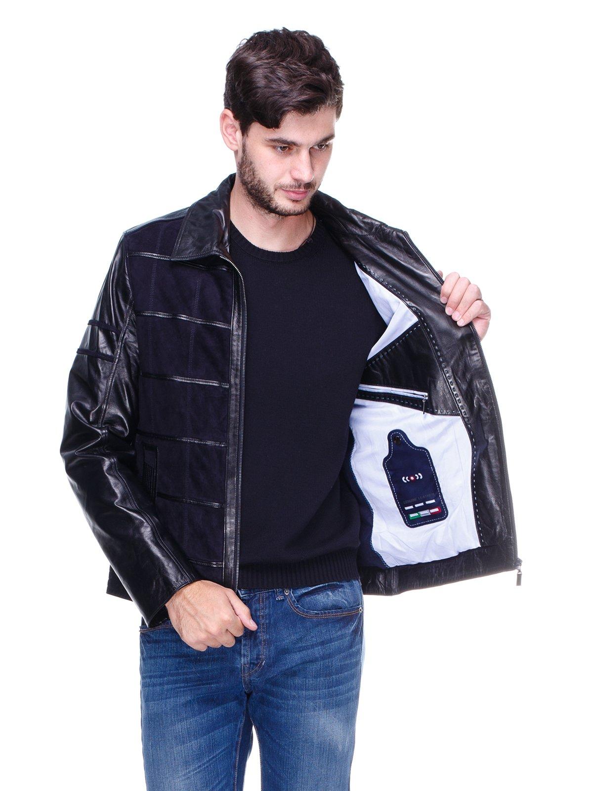 Куртка чорно-синя   1830326   фото 5