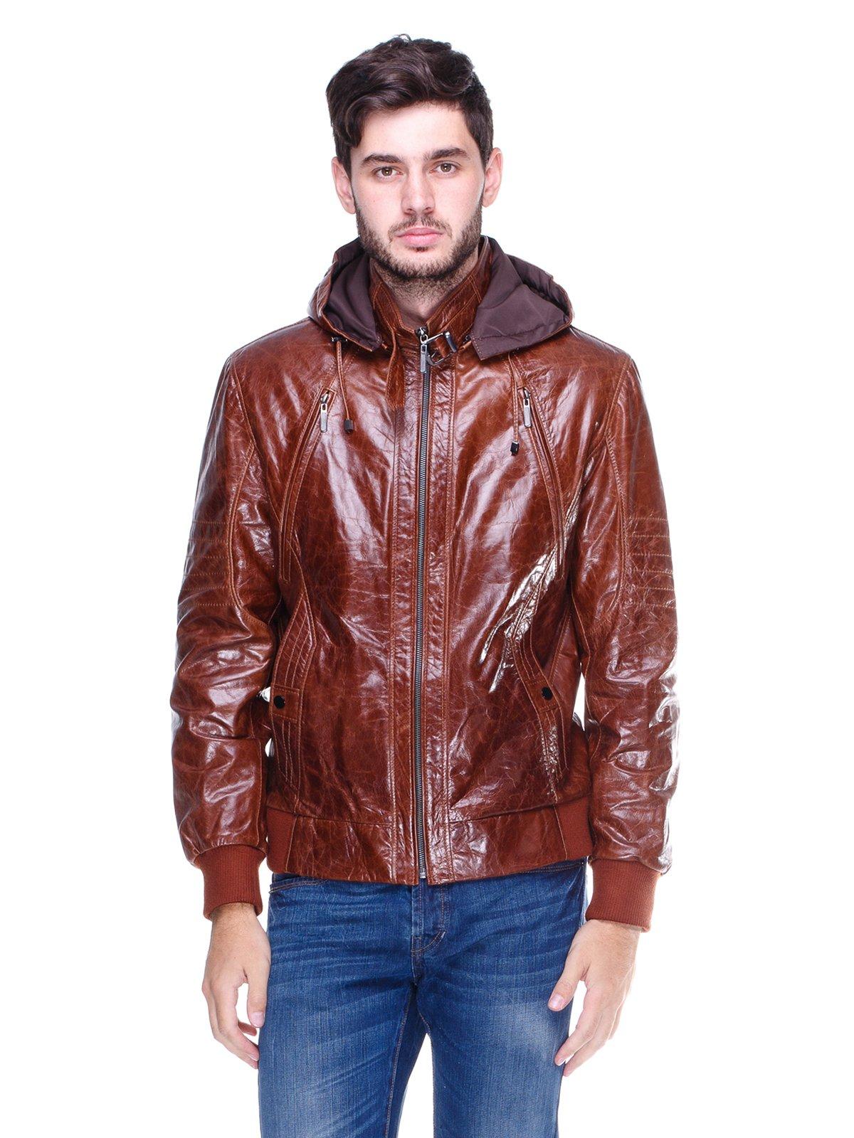 Куртка коричнева | 1830352