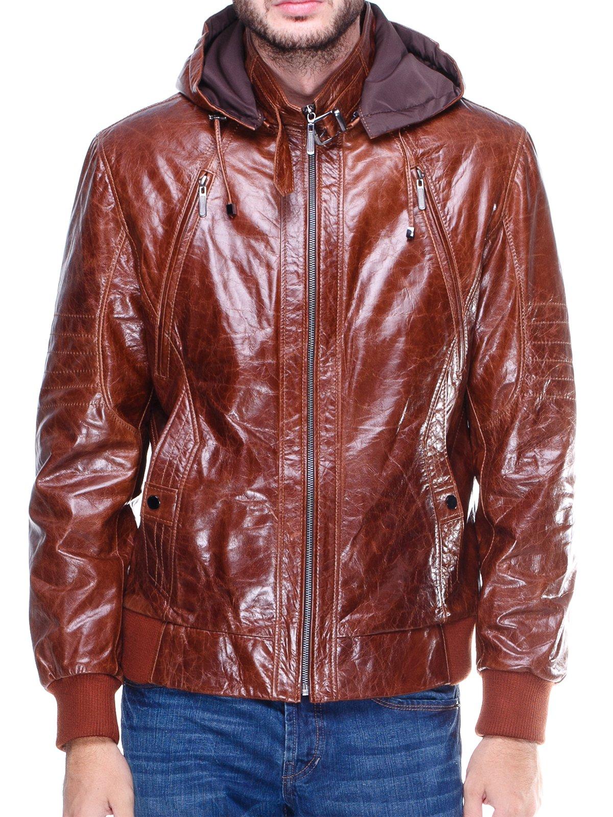 Куртка коричнева | 1830352 | фото 3