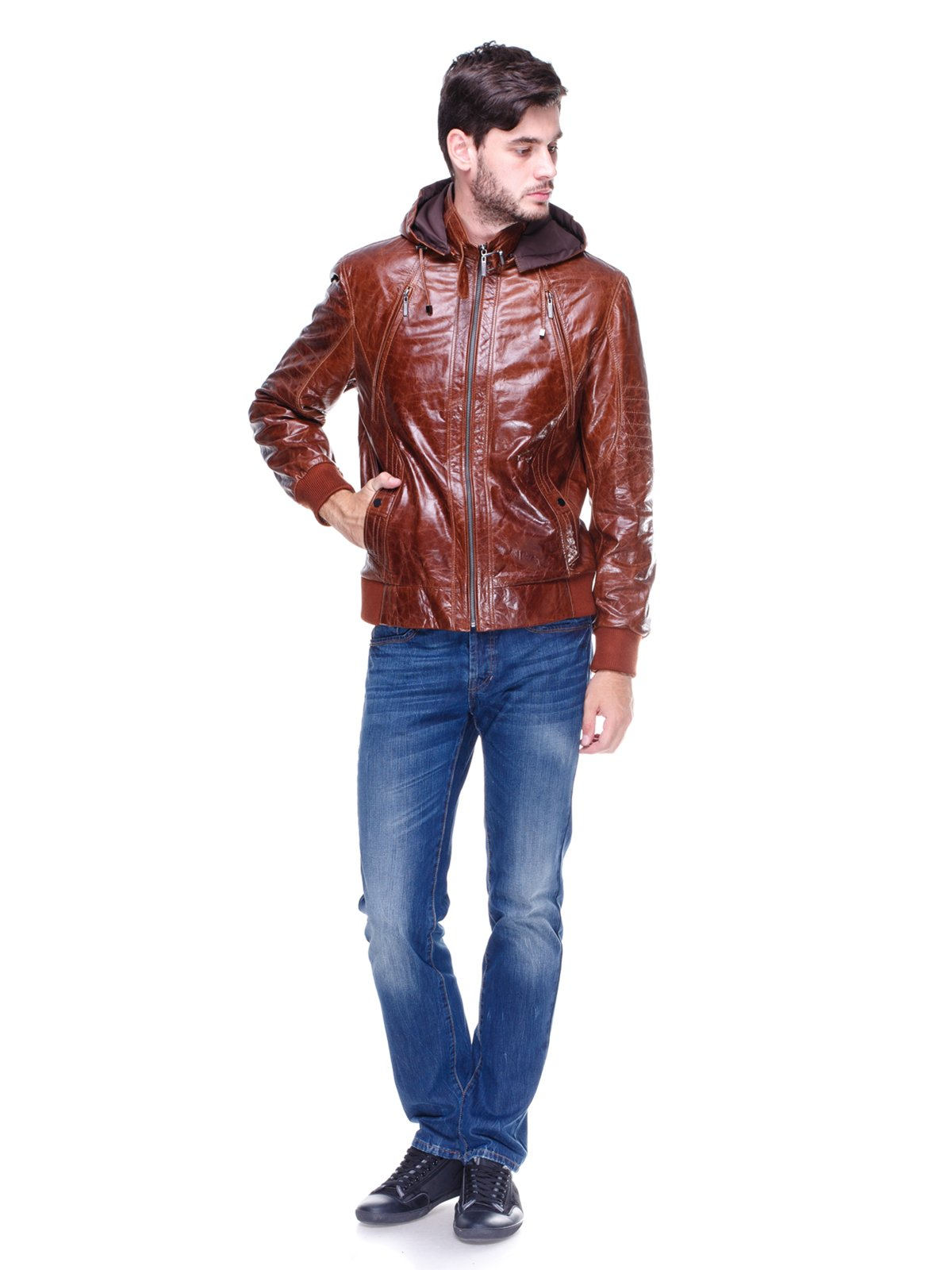 Куртка коричнева | 1830352 | фото 4