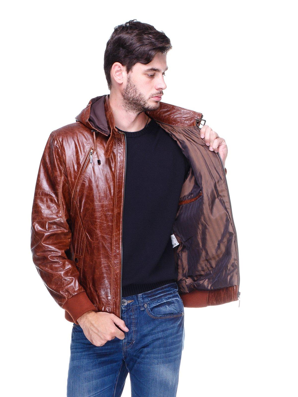 Куртка коричнева | 1830352 | фото 5