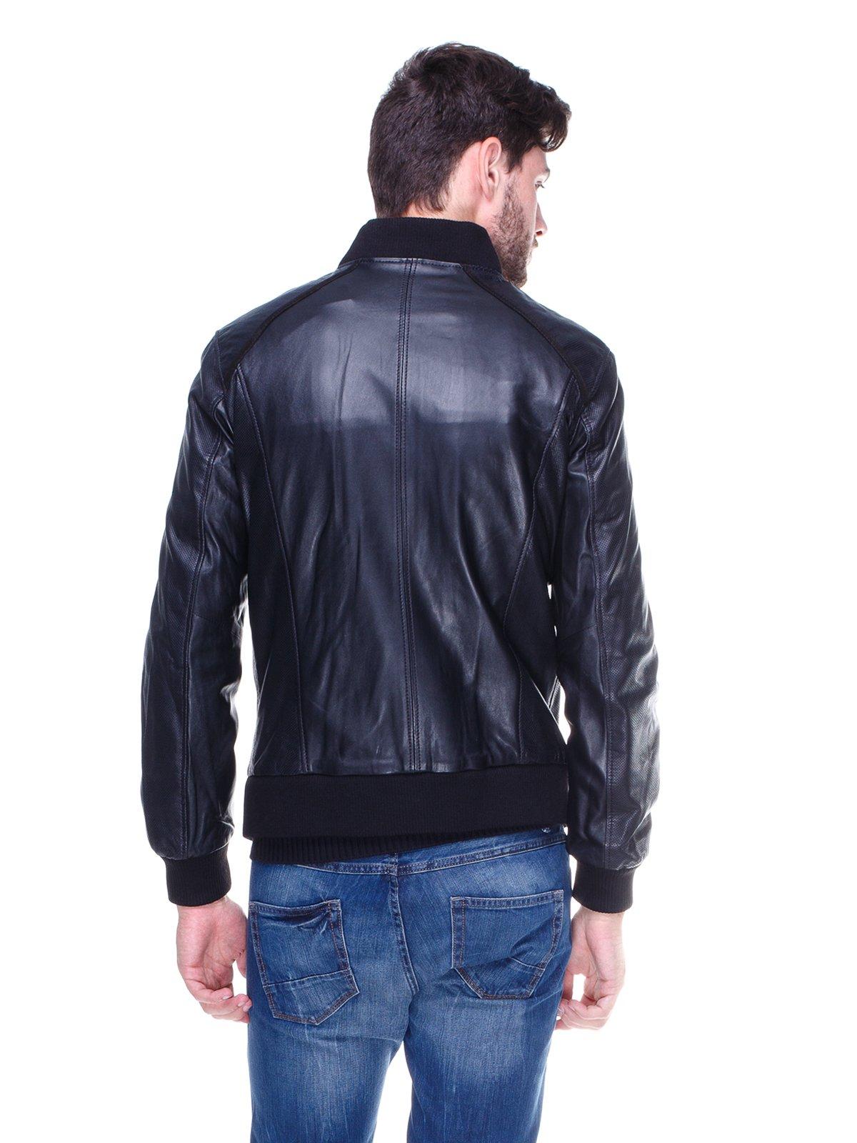 Куртка чорна з перфорацією | 1830332 | фото 2