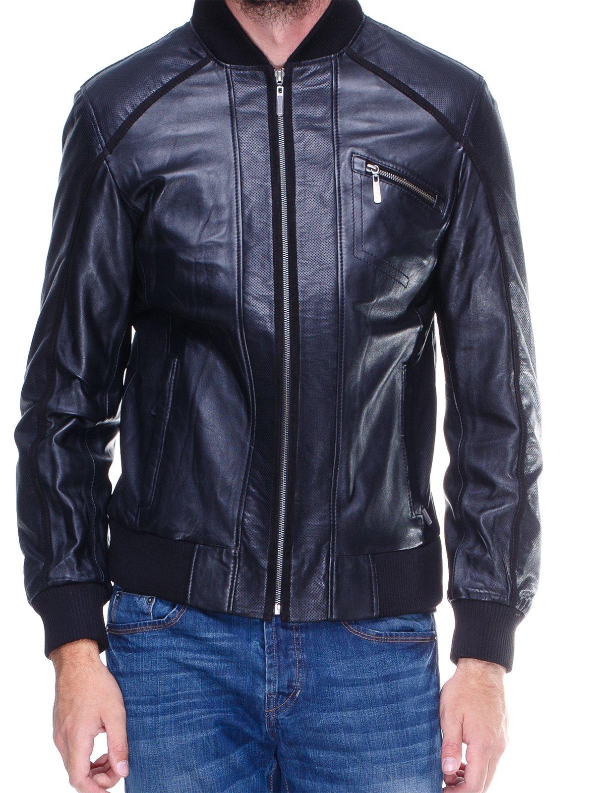Куртка чорна з перфорацією | 1830332 | фото 3