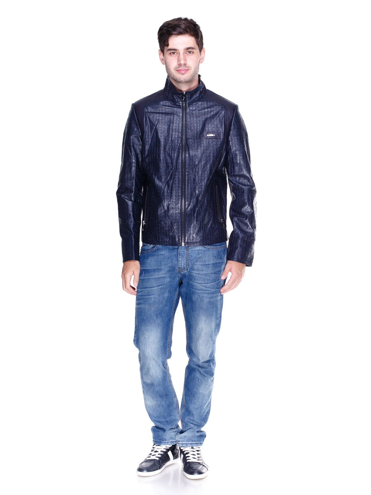 Куртка темно-синя | 1833605 | фото 4