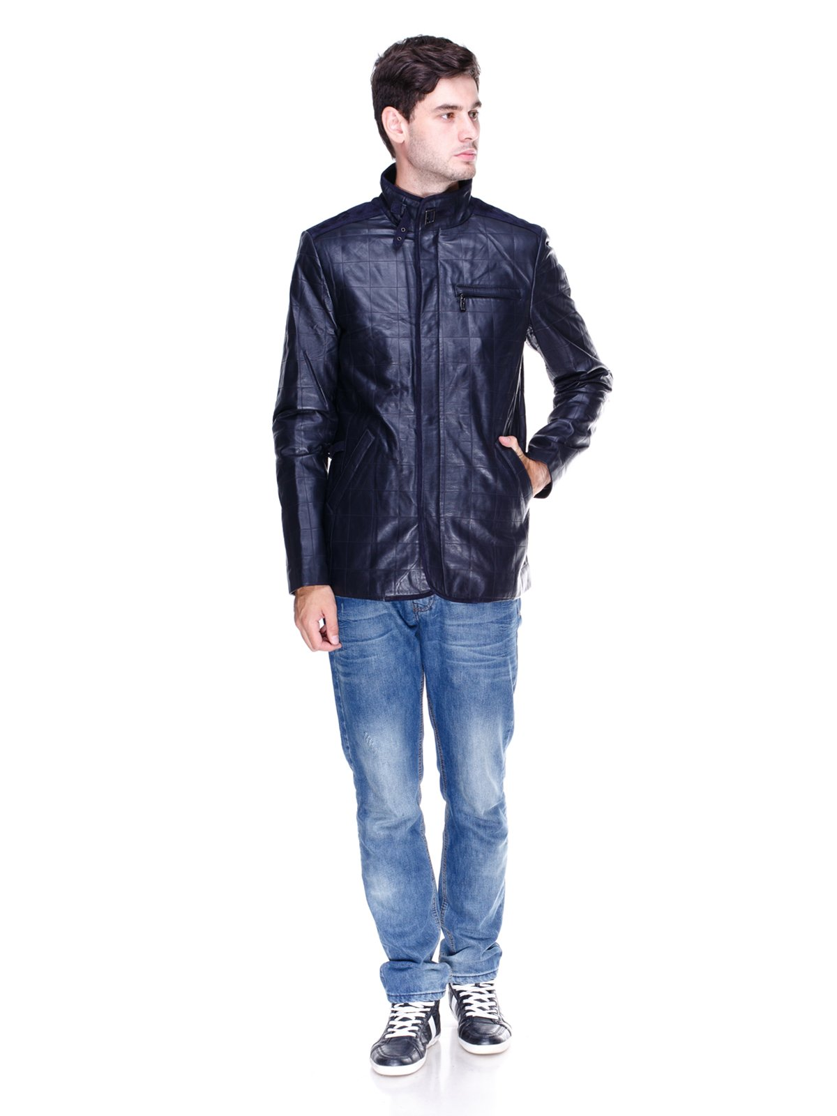 Куртка темно-синя | 1833595 | фото 4