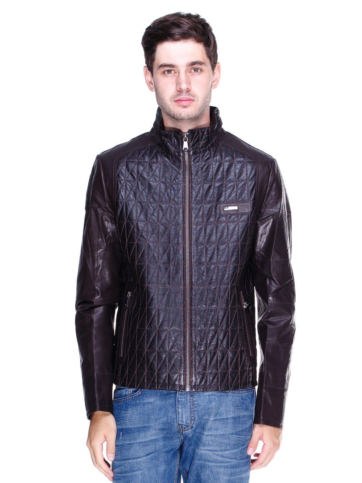 Куртка темно-коричнева | 1833600