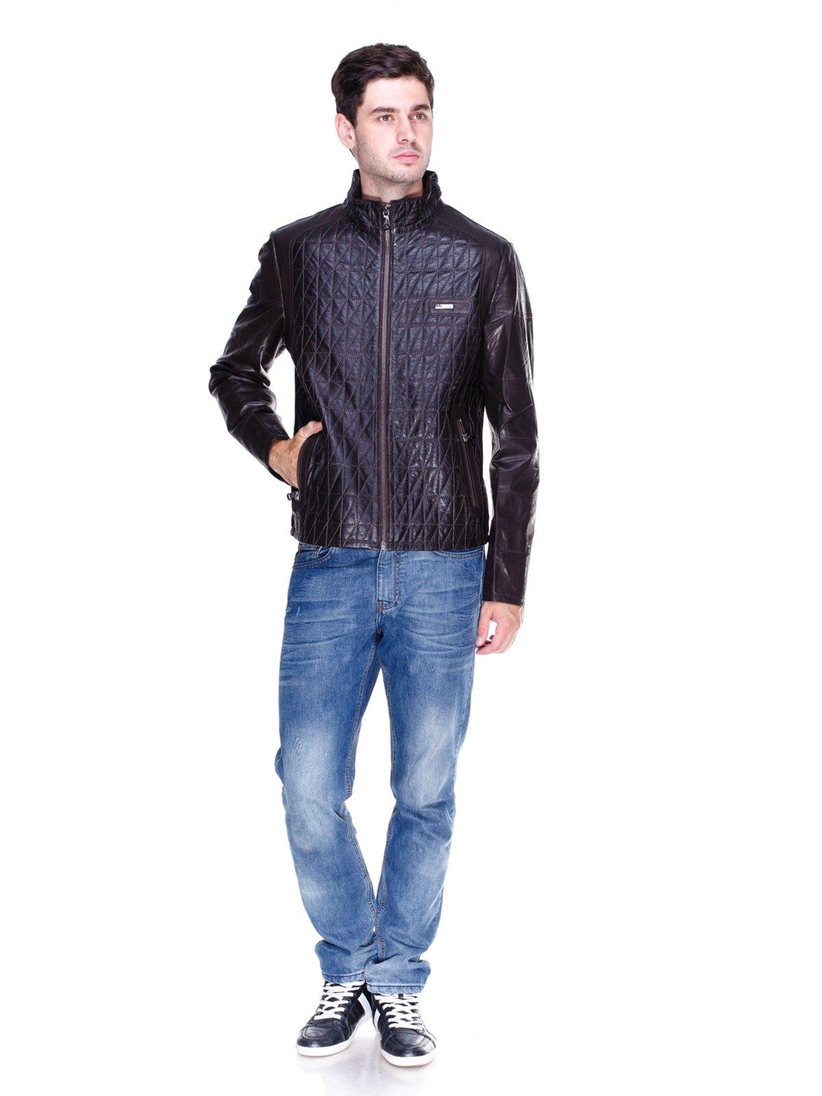 Куртка темно-коричнева | 1833600 | фото 4