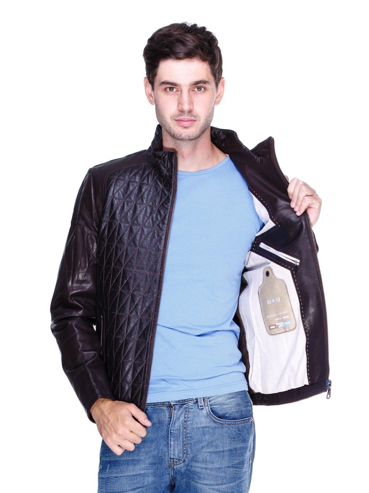 Куртка темно-коричнева | 1833600 | фото 5