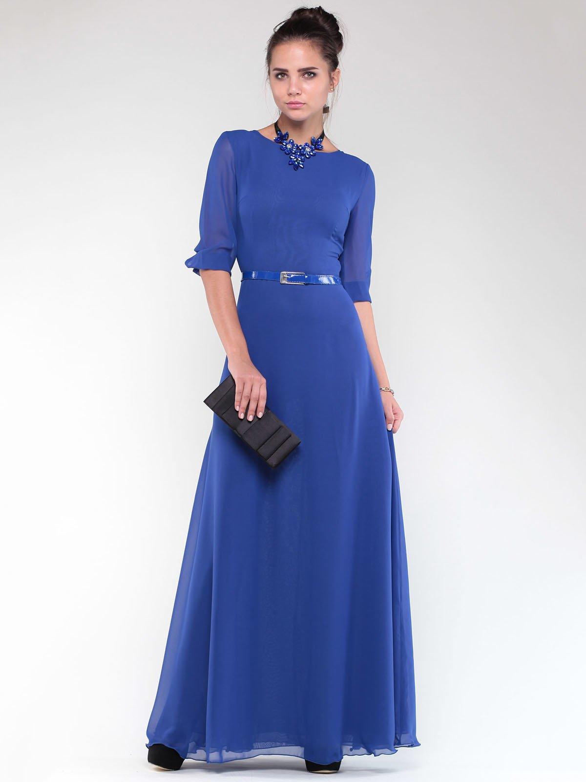 Платье цвета электрик | 1838238