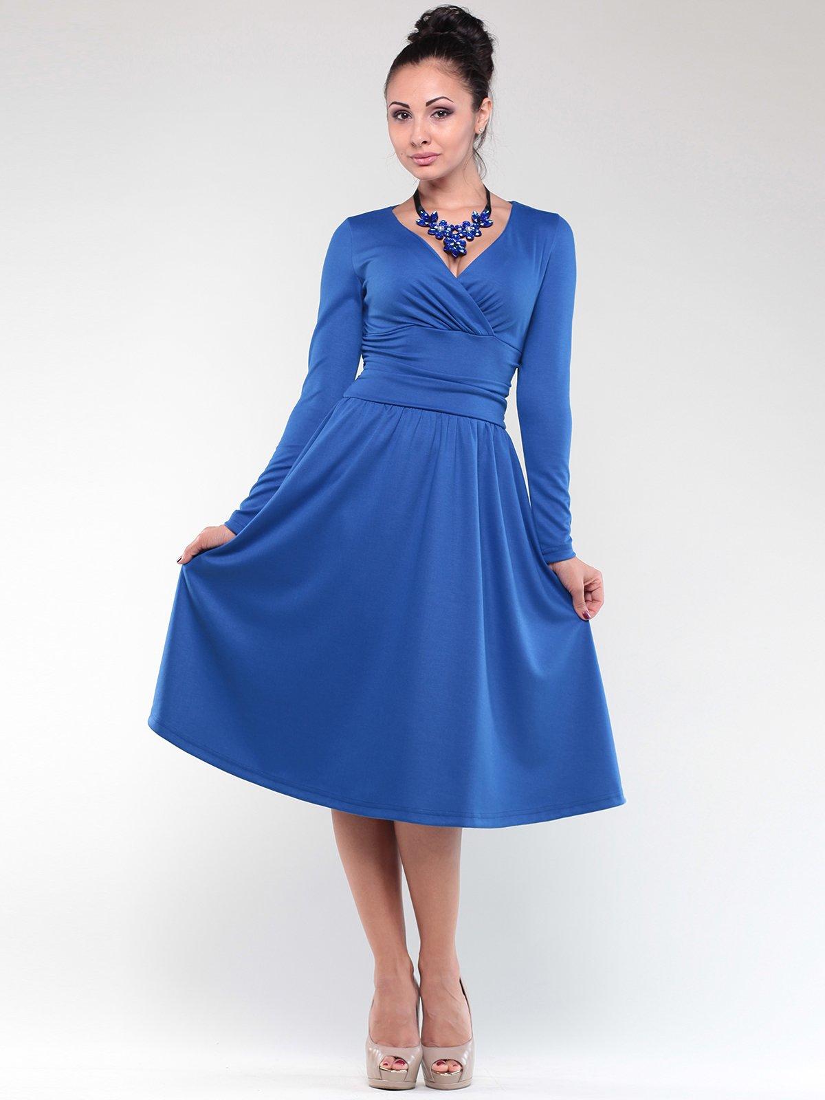 Платье синее   1842215