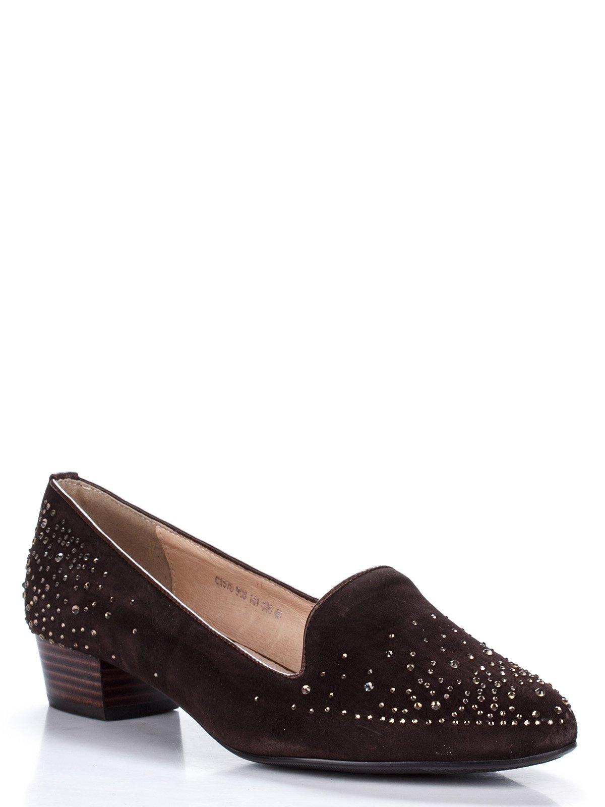 Туфли коричневые с декором   1844645
