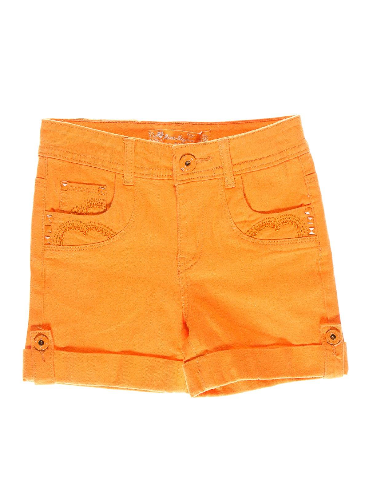 Шорти помаранчевого кольору | 1844000
