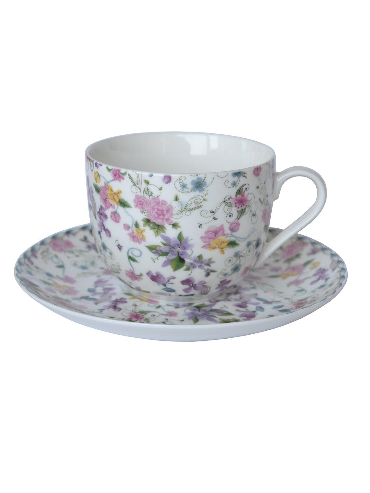 Чашка (230 мл) з блюдцем   1849487