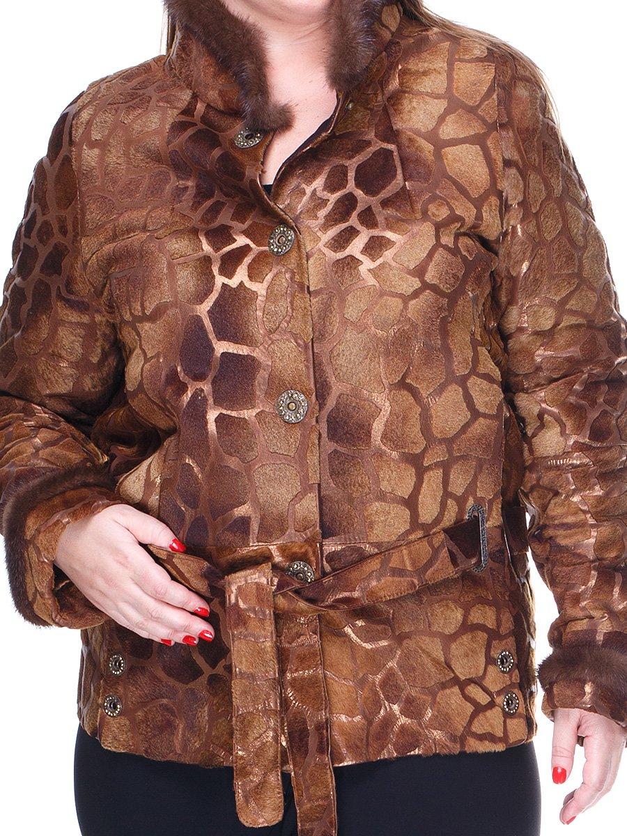 Куртка пісочного кольору з малюнком | 1848848 | фото 3