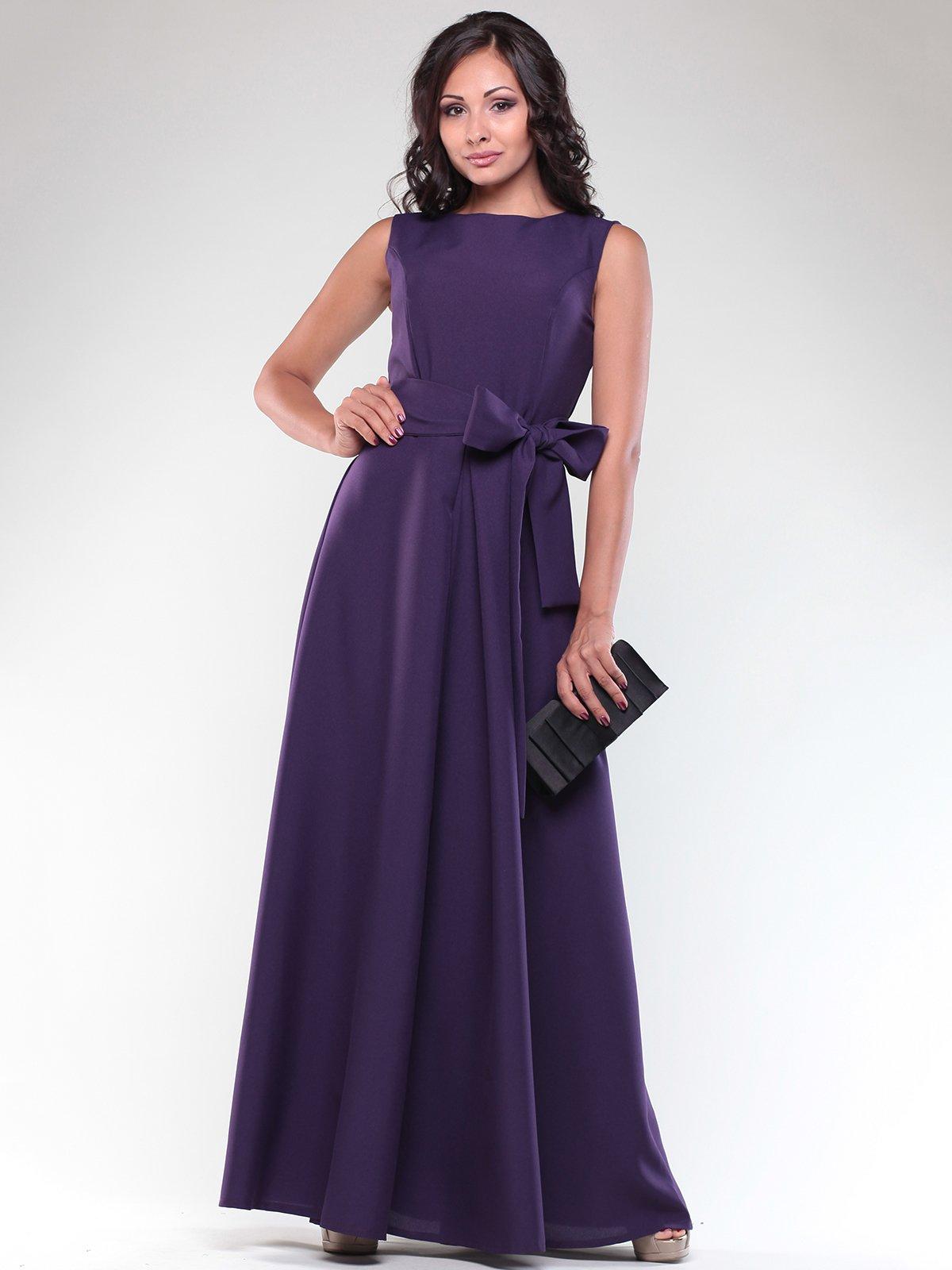 Платье темно-фиолетовое | 1850681