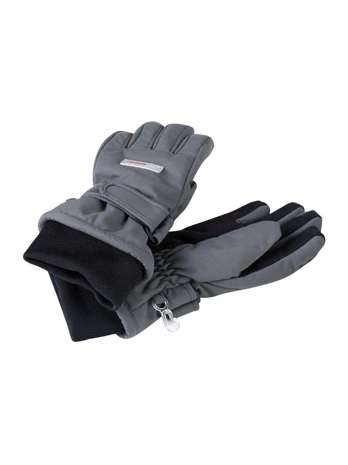 Рукавиці сіро-чорні   1852321
