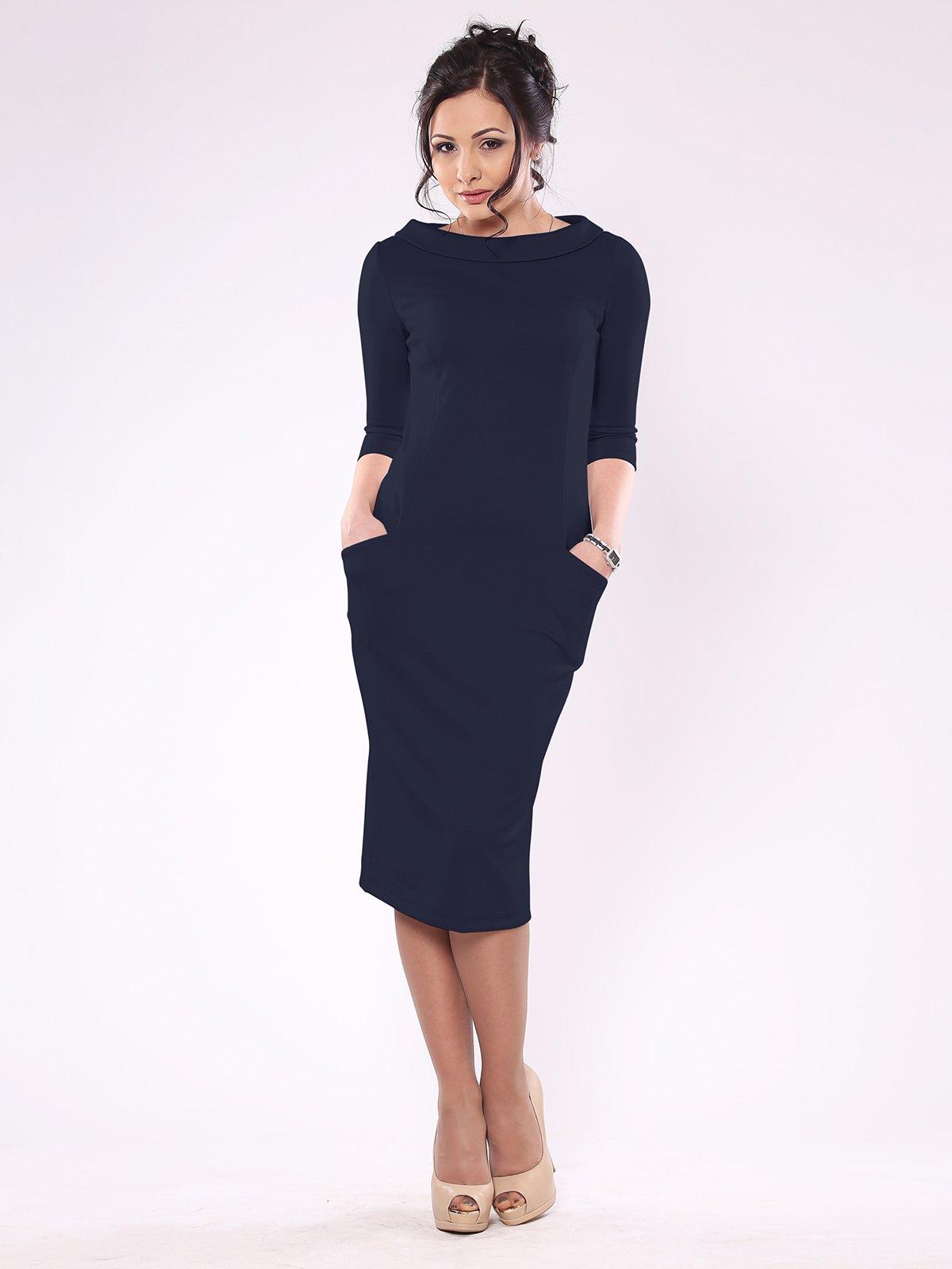 Сукня темно-синя   1850835