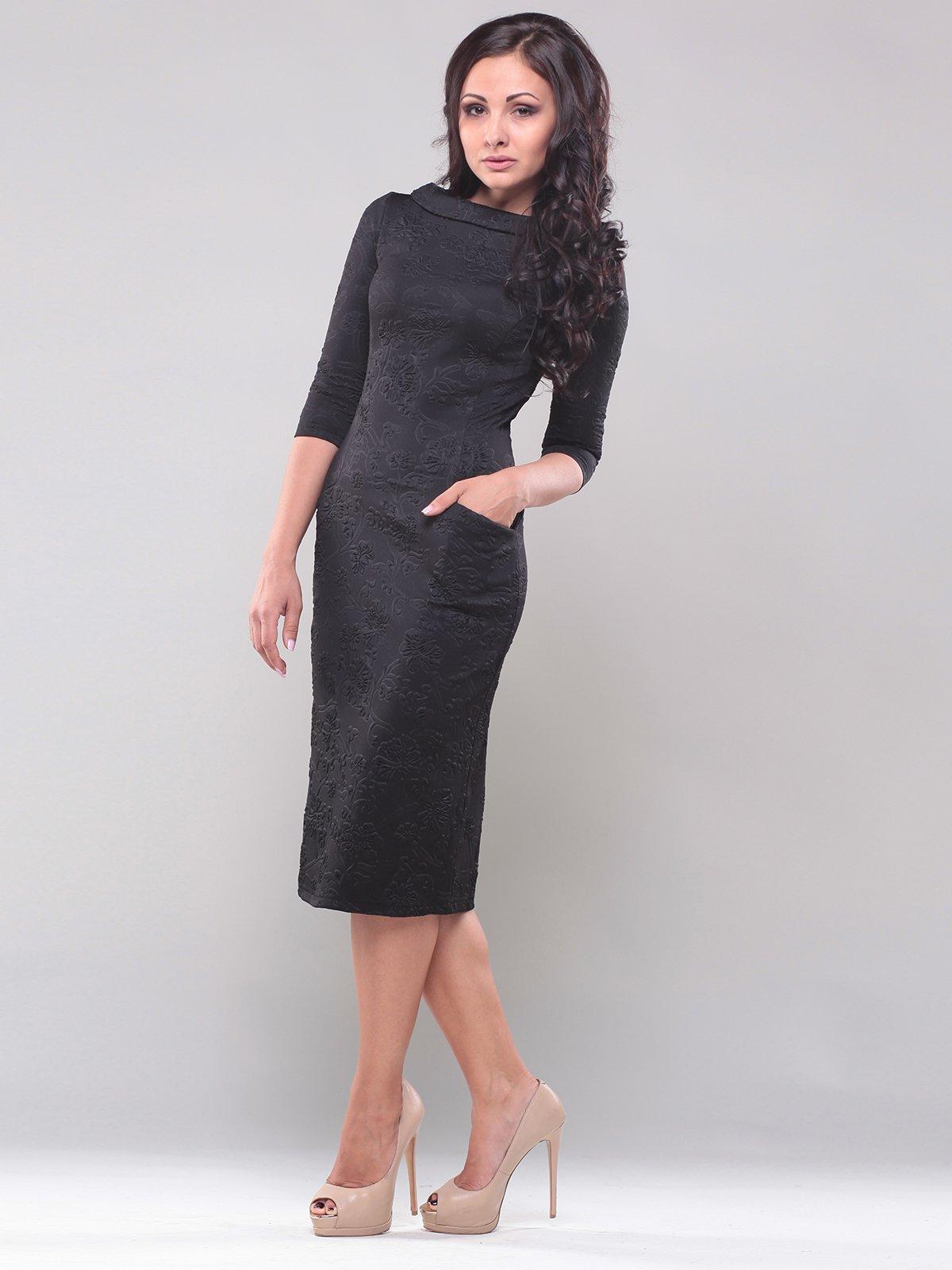 Платье черное   1850845   фото 4