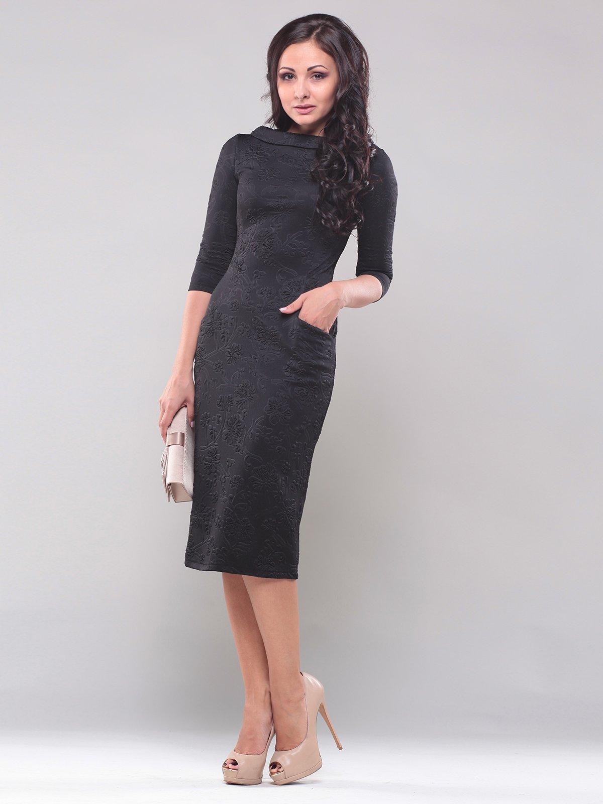 Платье черное   1850845   фото 6