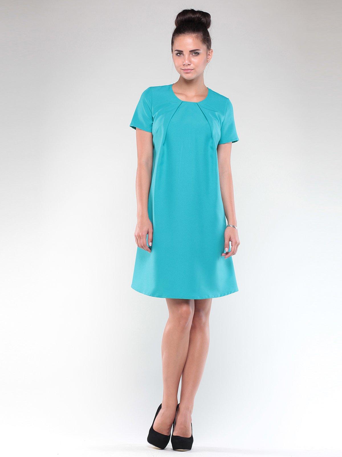 Сукня світло-ментолового кольору   1850876