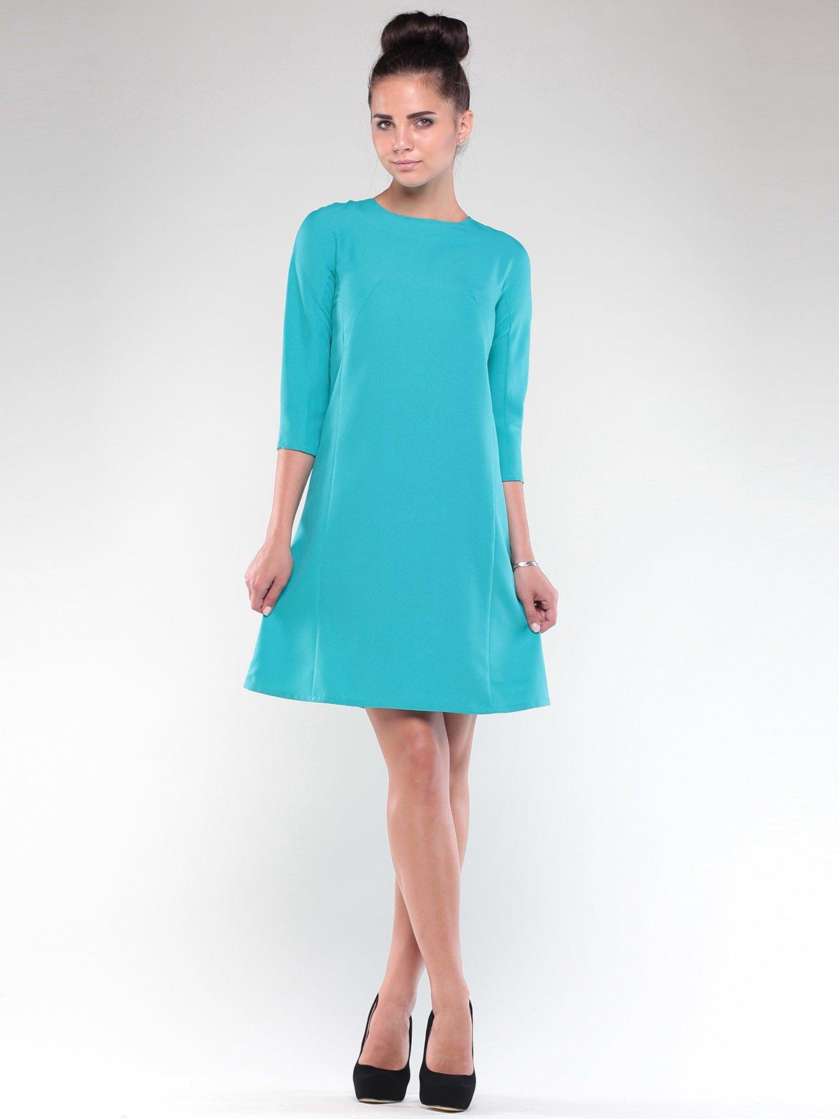 Платье светло-ментолового цвета   1850877