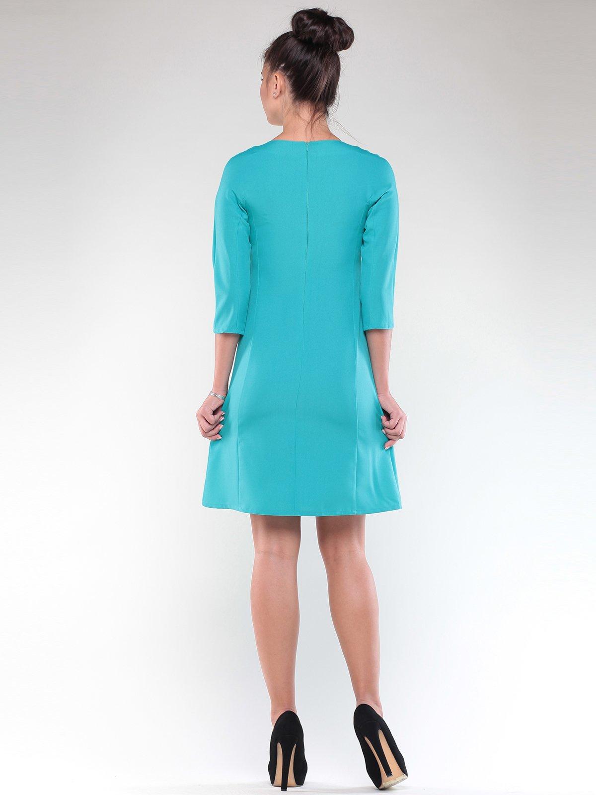 Платье светло-ментолового цвета   1850877   фото 2