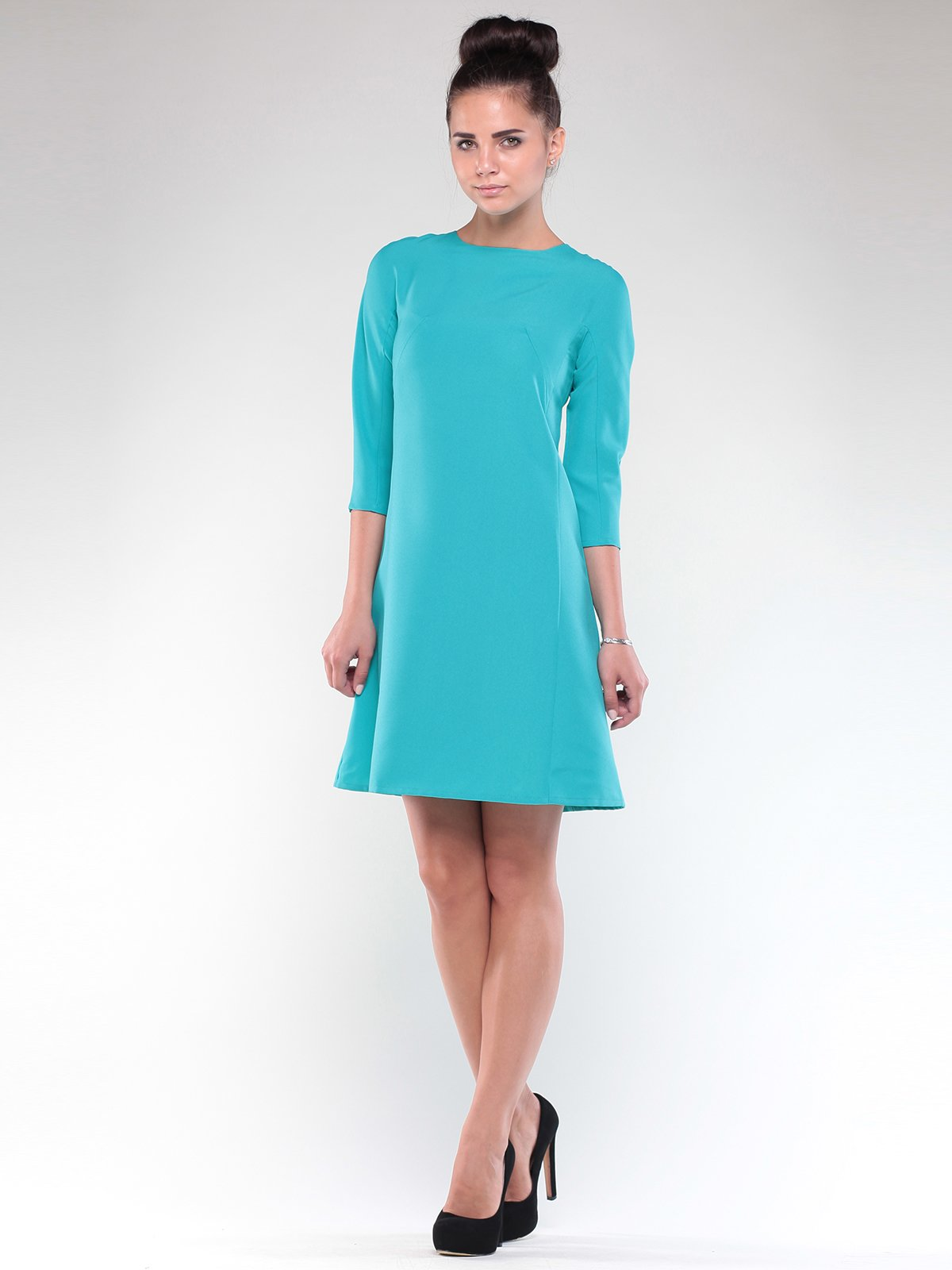 Платье светло-ментолового цвета   1850877   фото 4
