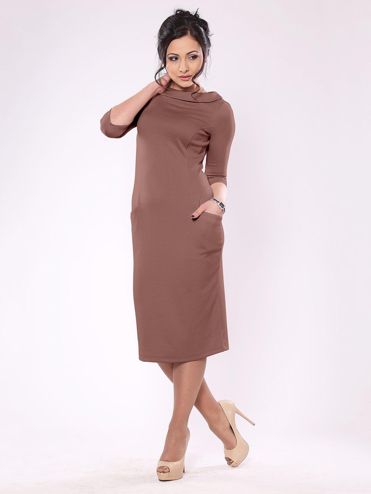 Сукня кольору мокко | 1861140