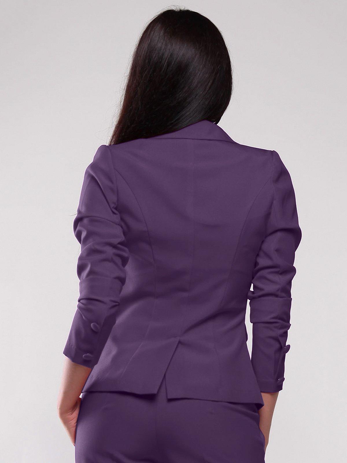 Жакет темно-фиолетовый   1861150   фото 2