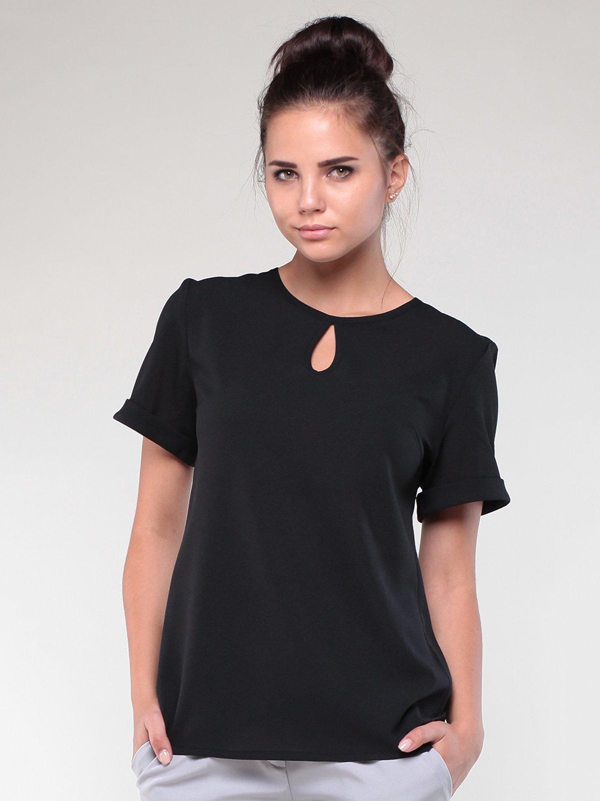 Блуза черная   1861155