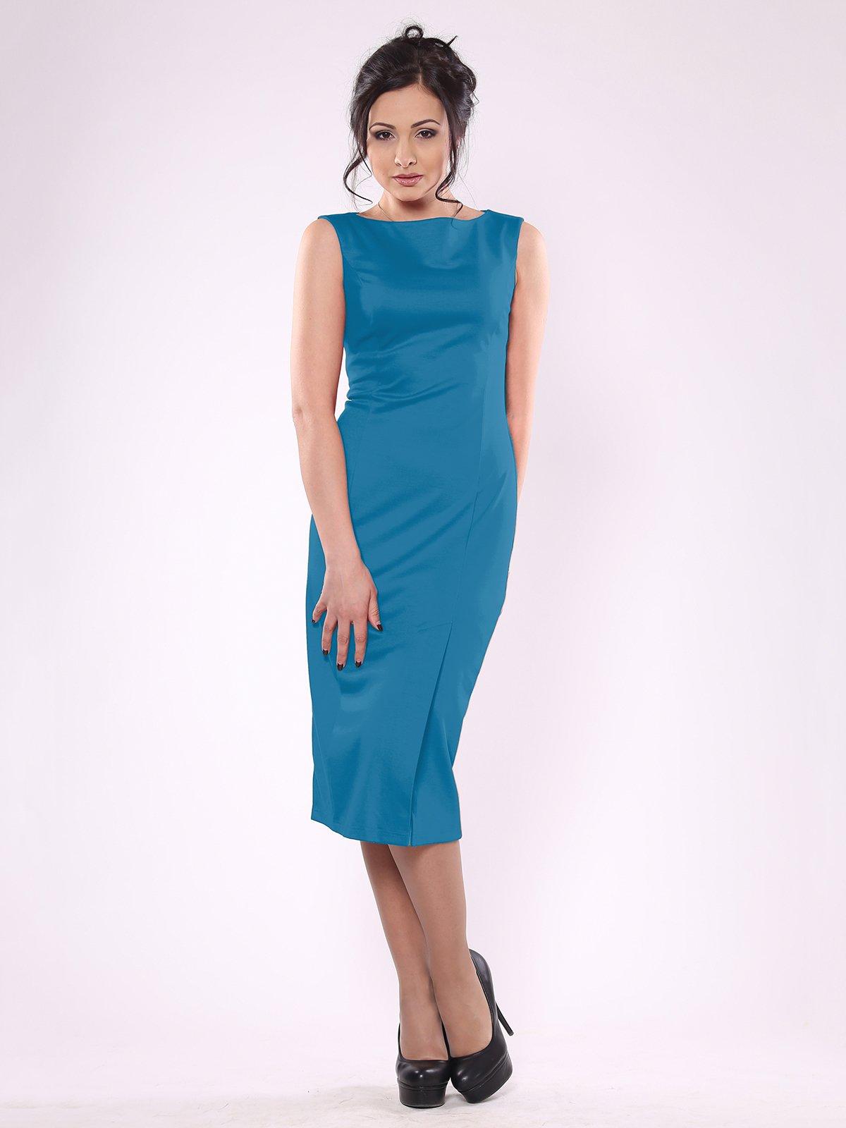 Сукня темно-бірюзова | 1860889