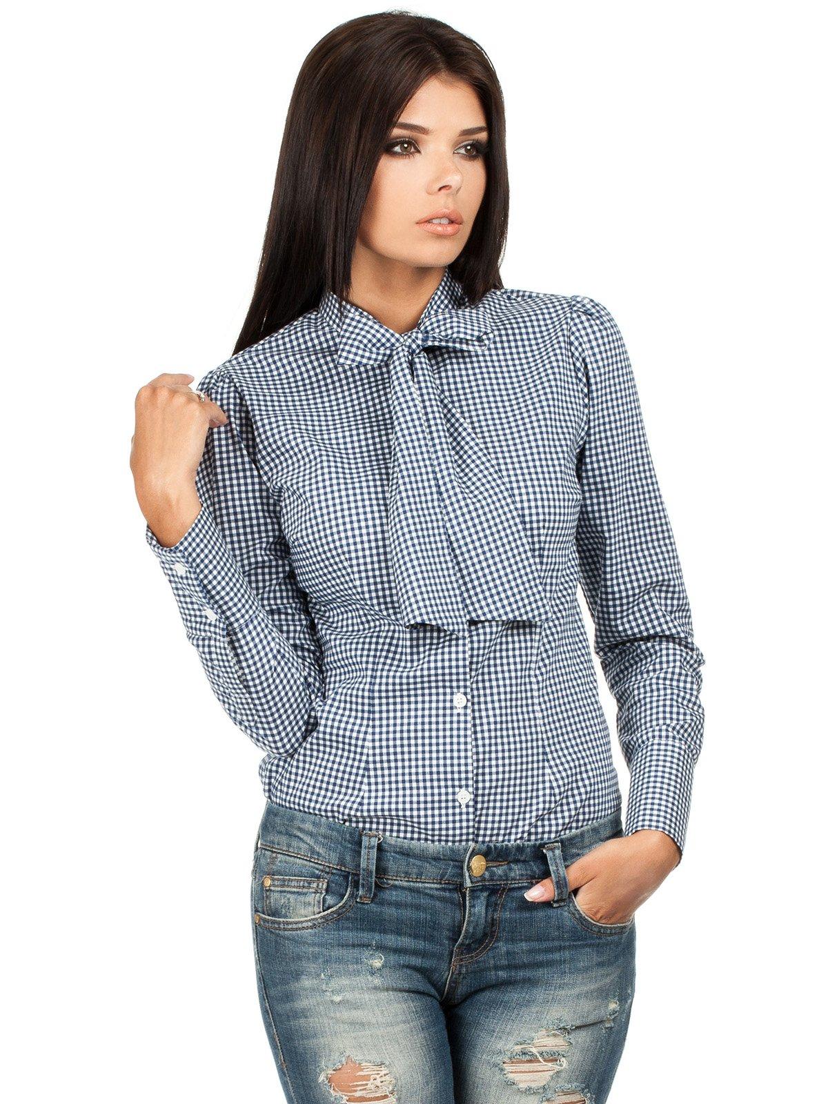 Блуза в клетку | 1358006