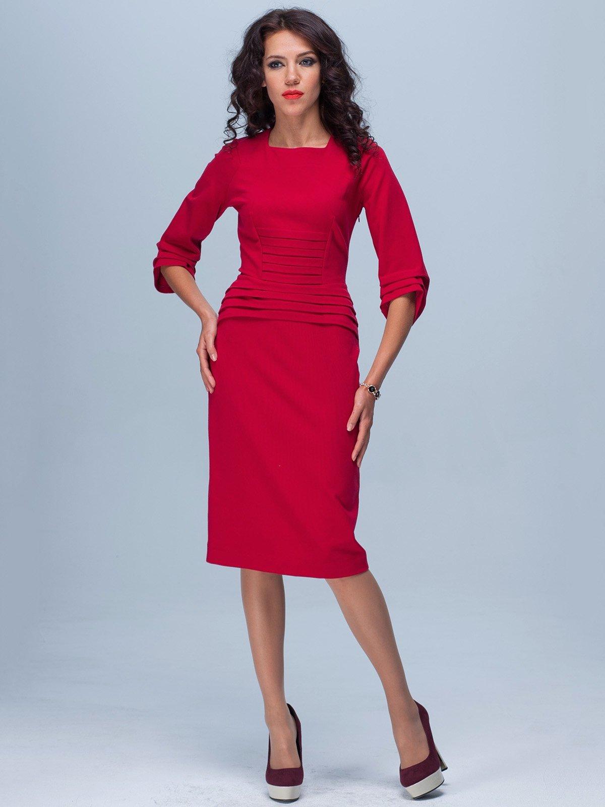 Платье красное | 1876238
