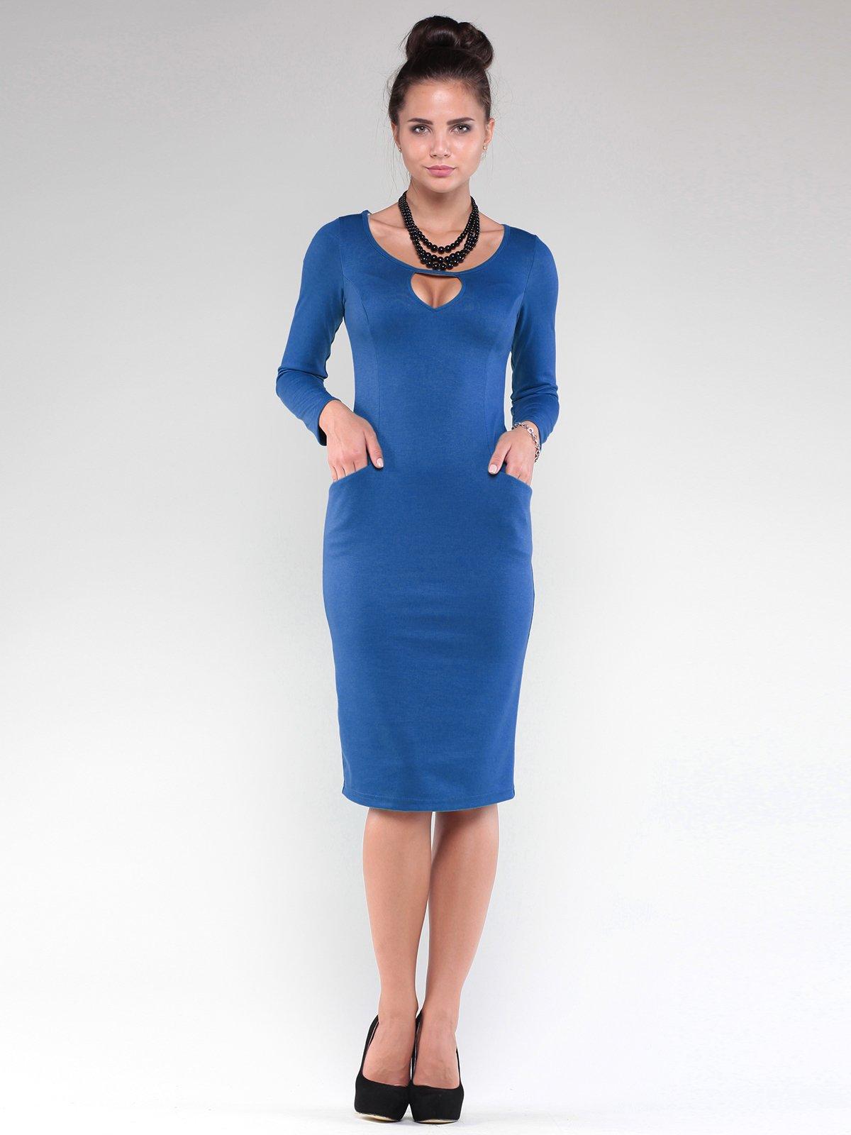 Платье цвета электрик | 1832212