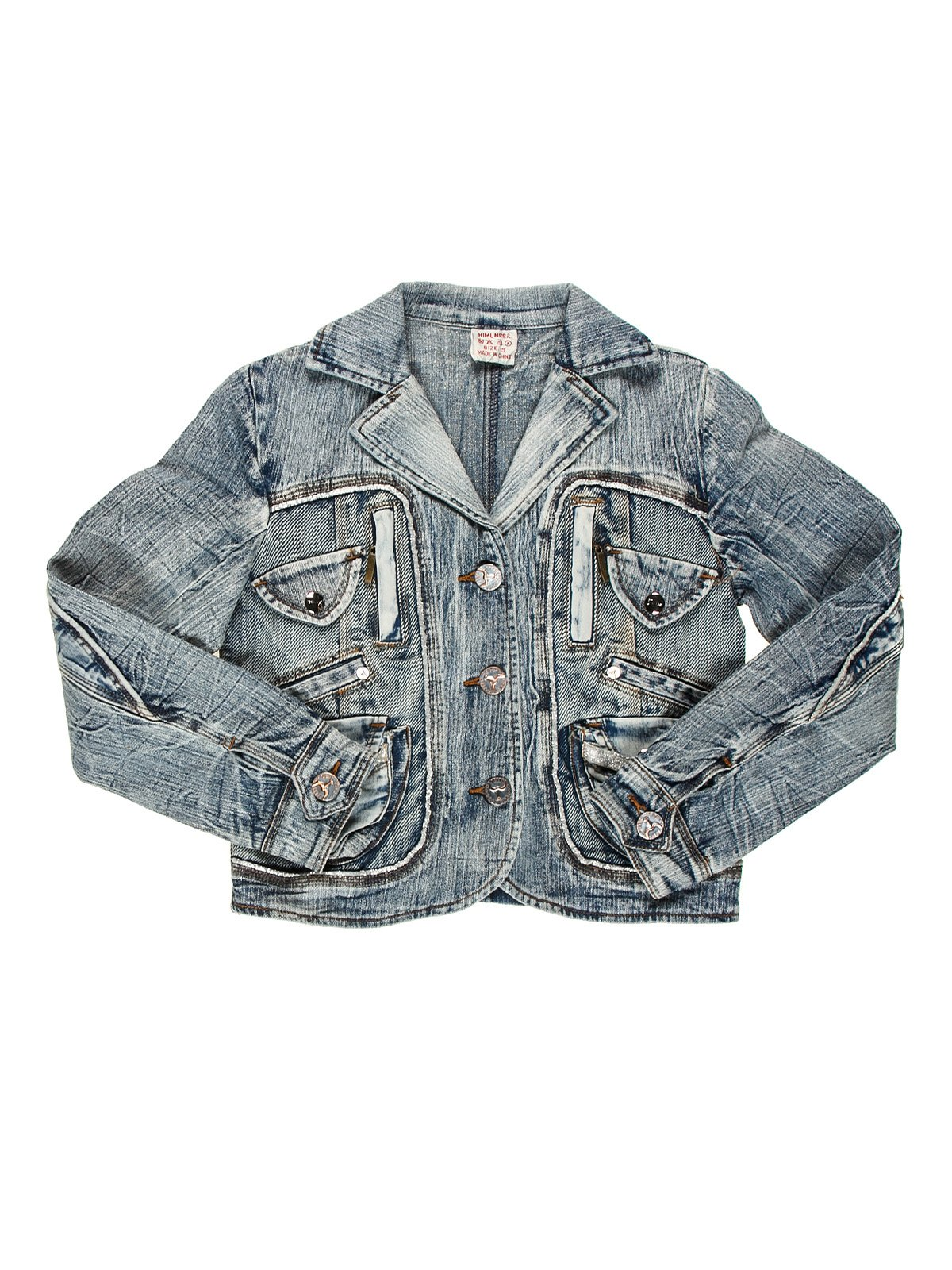 Куртка синя джинсова   1428471
