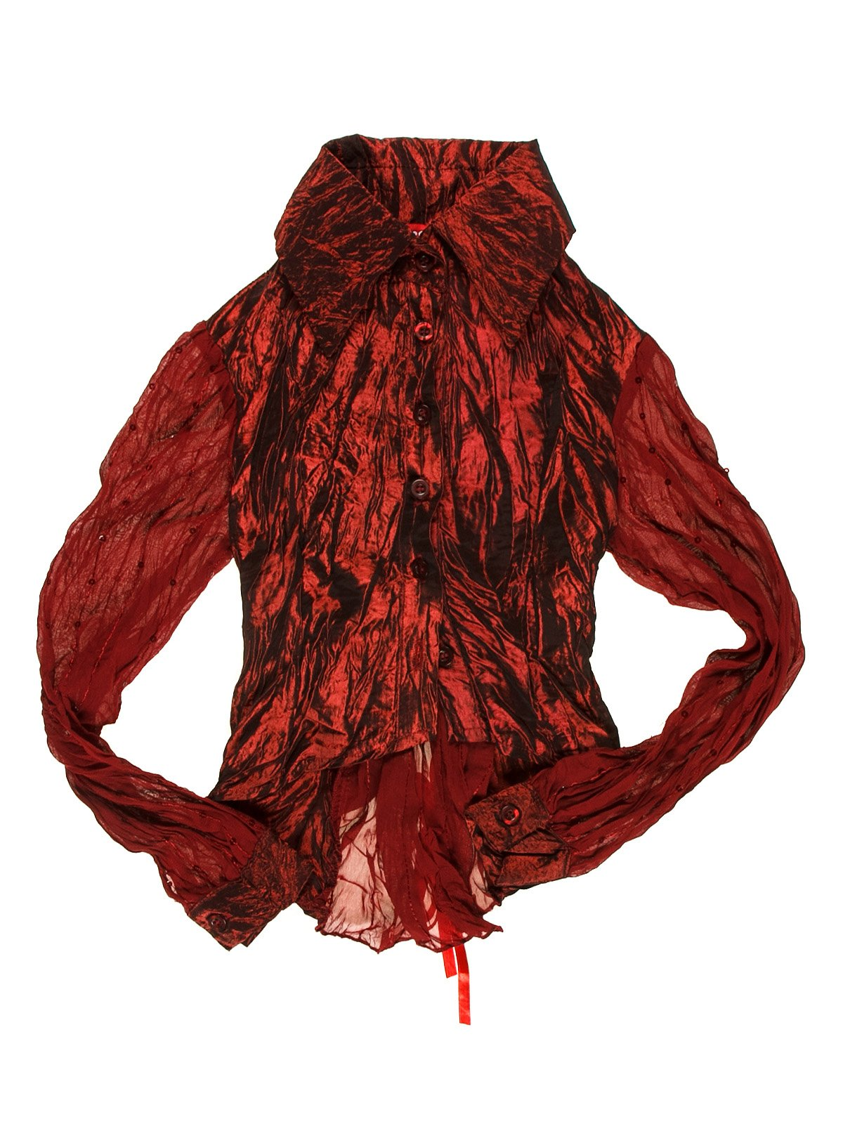 Блуза бордова   1878971
