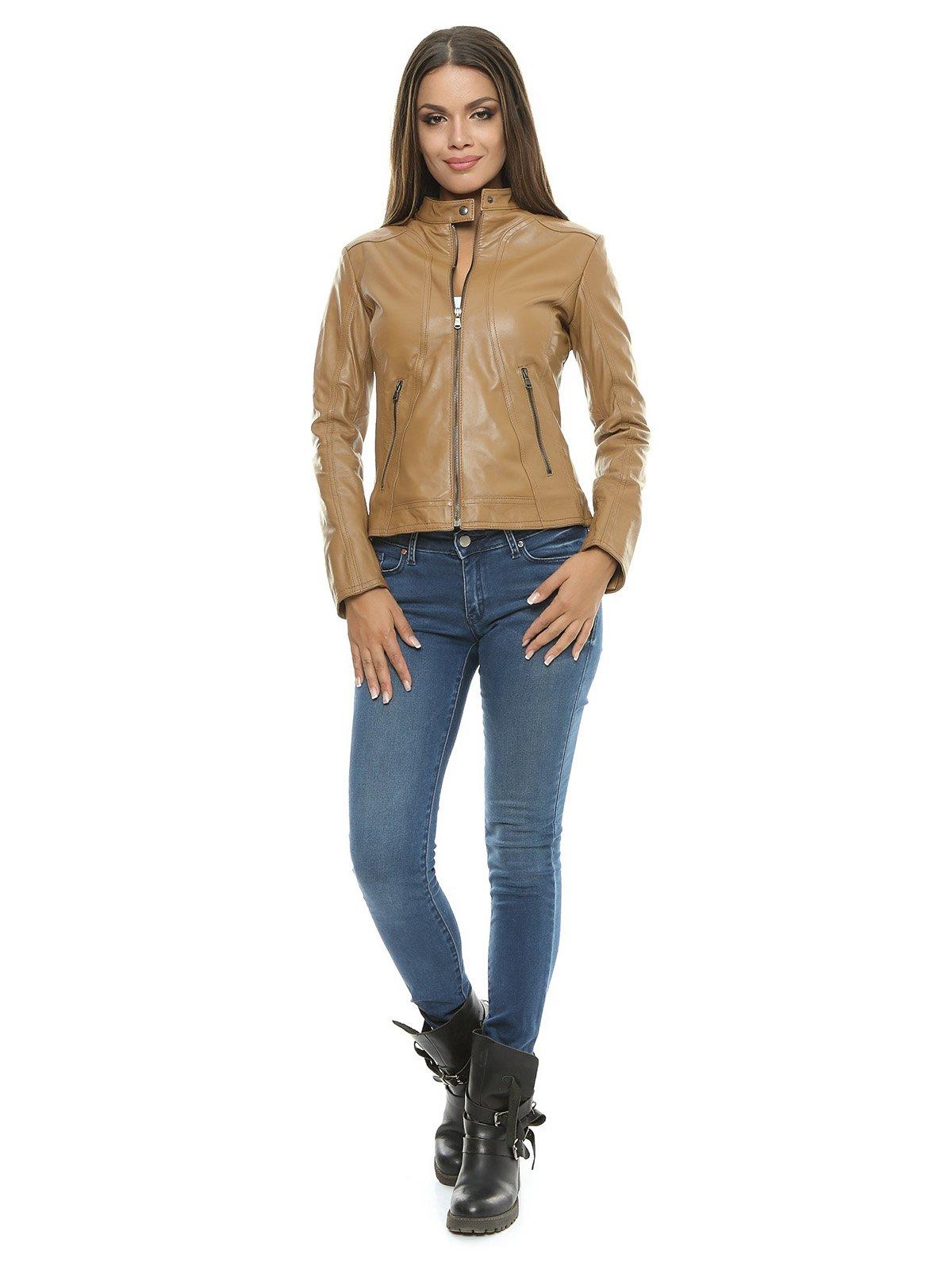Куртка цвета коньяка   1315351   фото 3