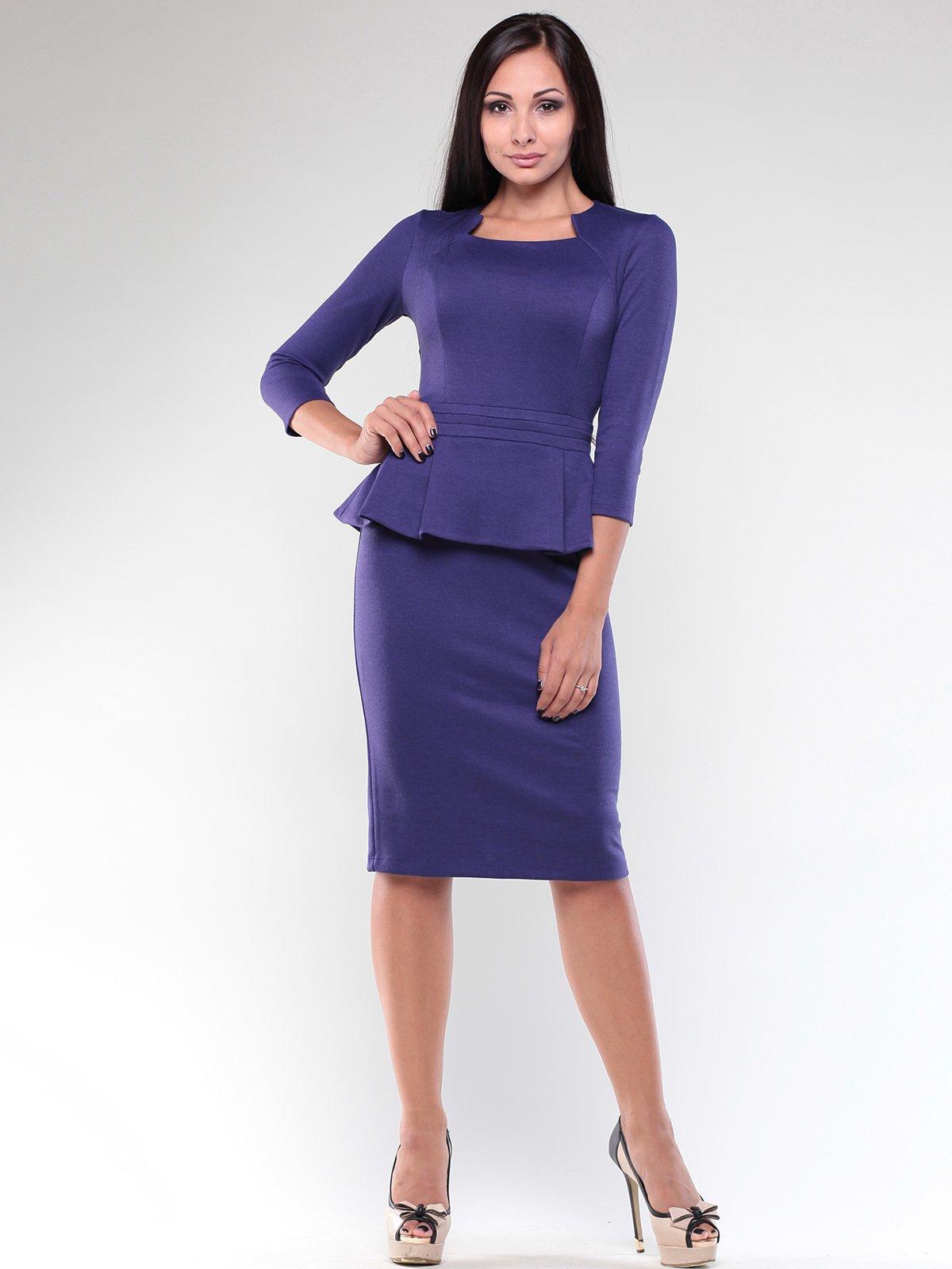 Сукня темно-фіолетова   1887505