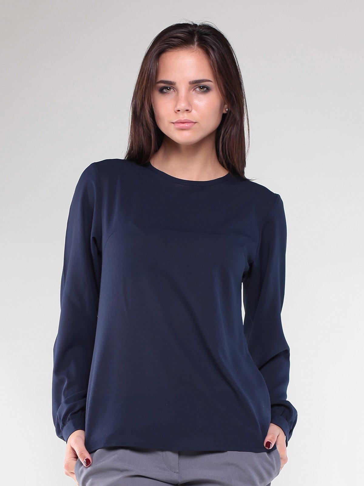 Блуза темно-синяя | 1887504