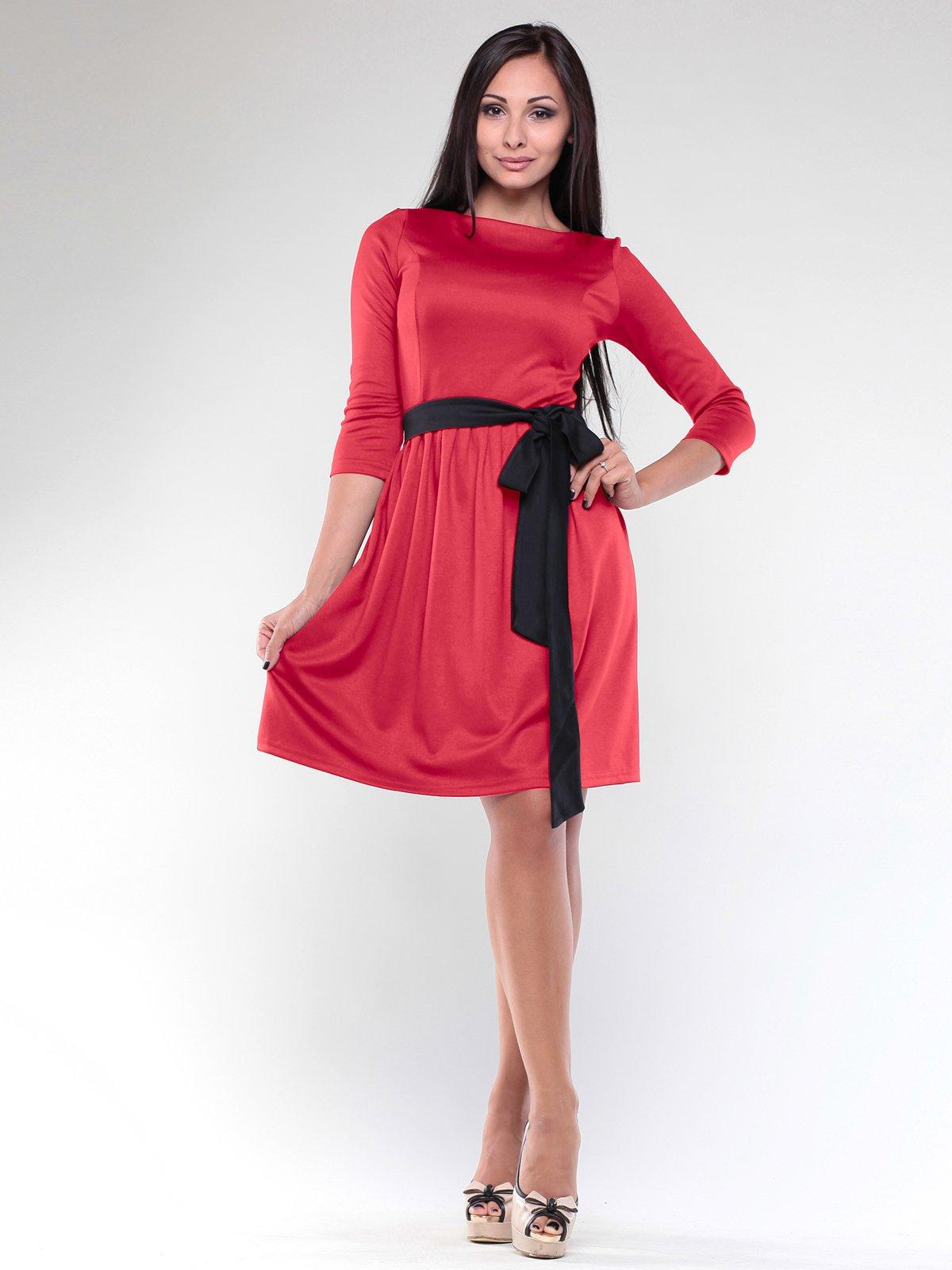 Платье насыщенно-красное | 1887489