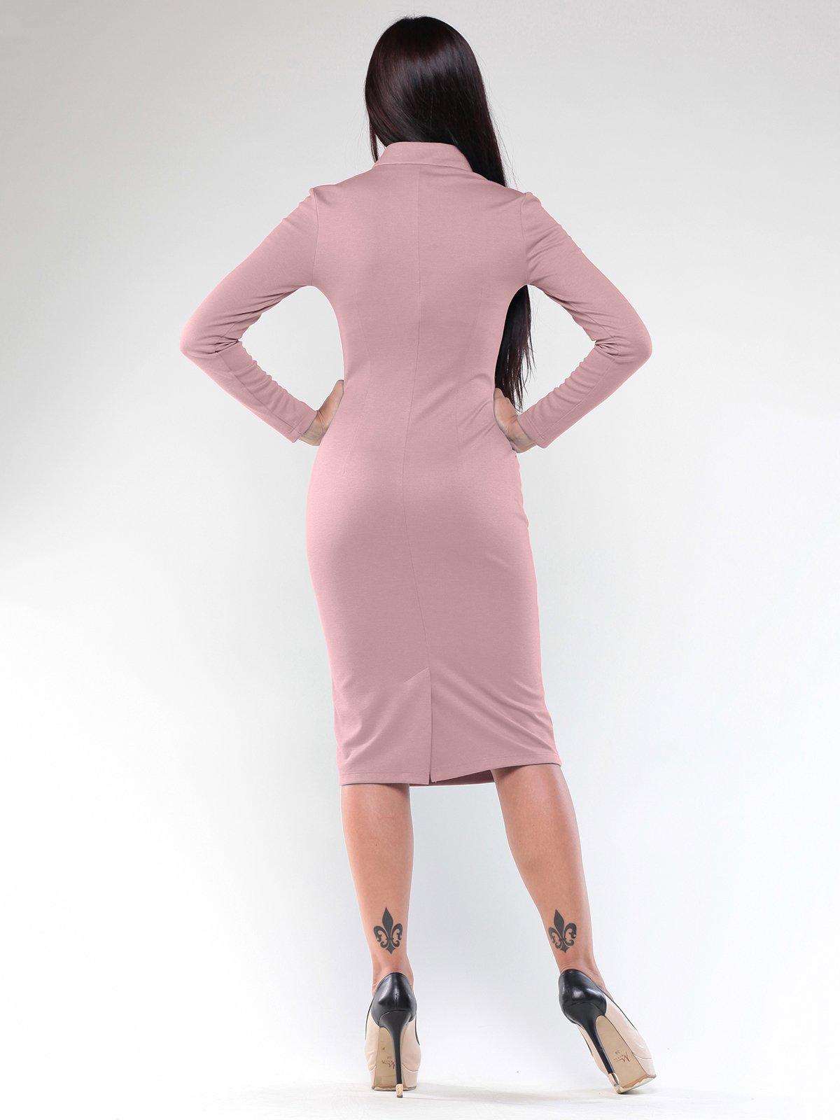 Платье бежево-розовое | 1887496 | фото 2