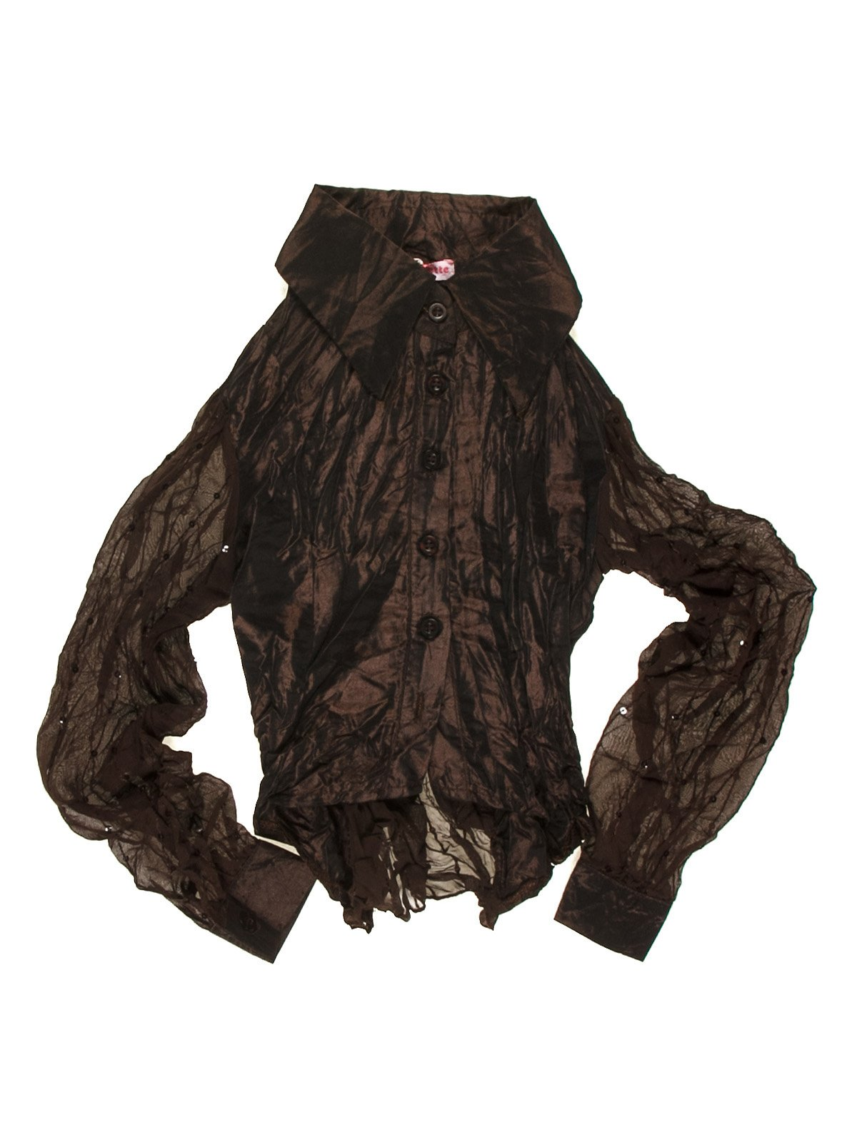Блуза коричневая   1878970