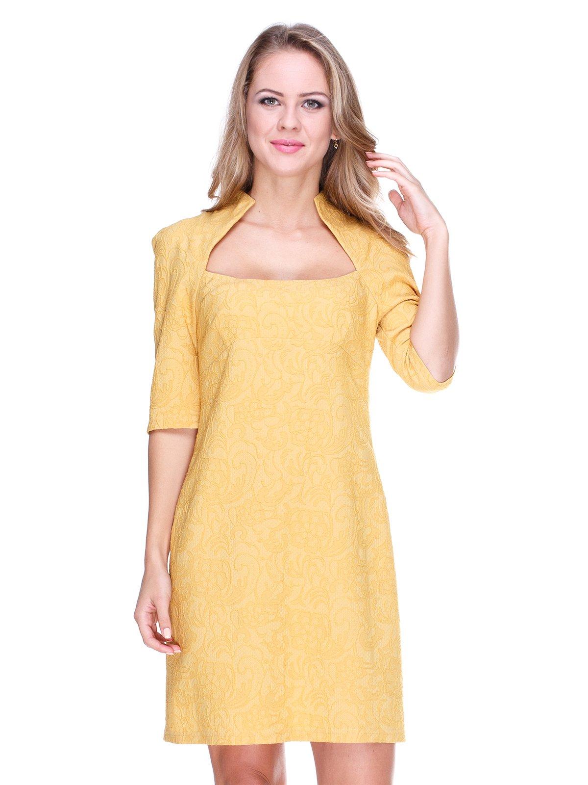 Платье горчичного цвета | 1888258