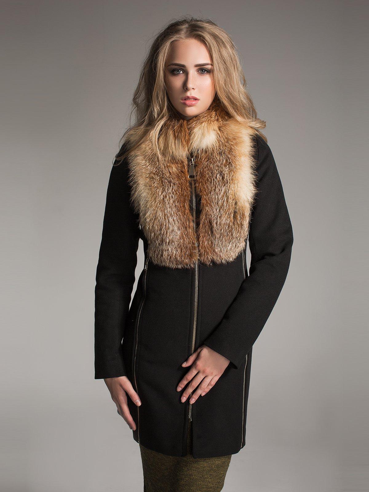 Пальто чорне | 1891320