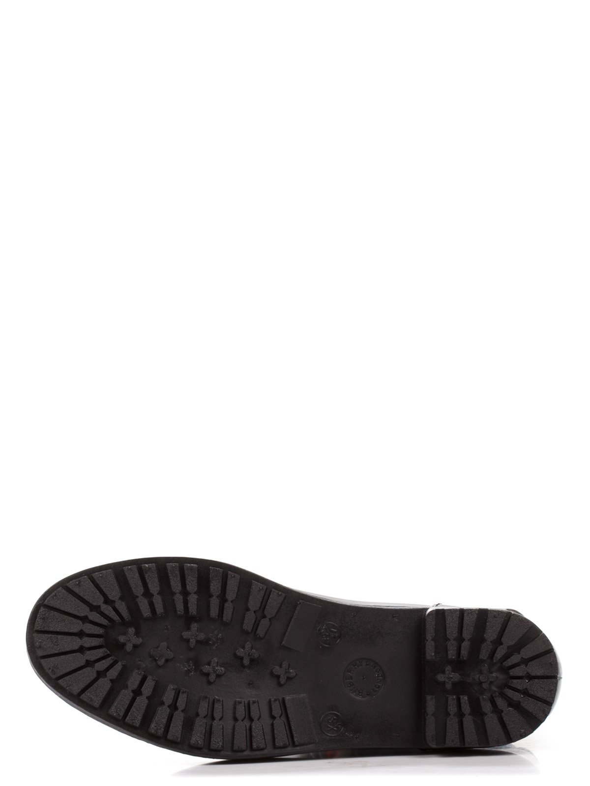 Сапоги черные с принтом | 1890462 | фото 4