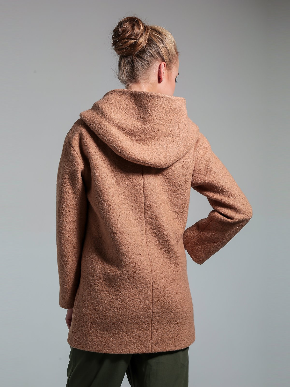 Пальто бежевое | 1891329 | фото 3
