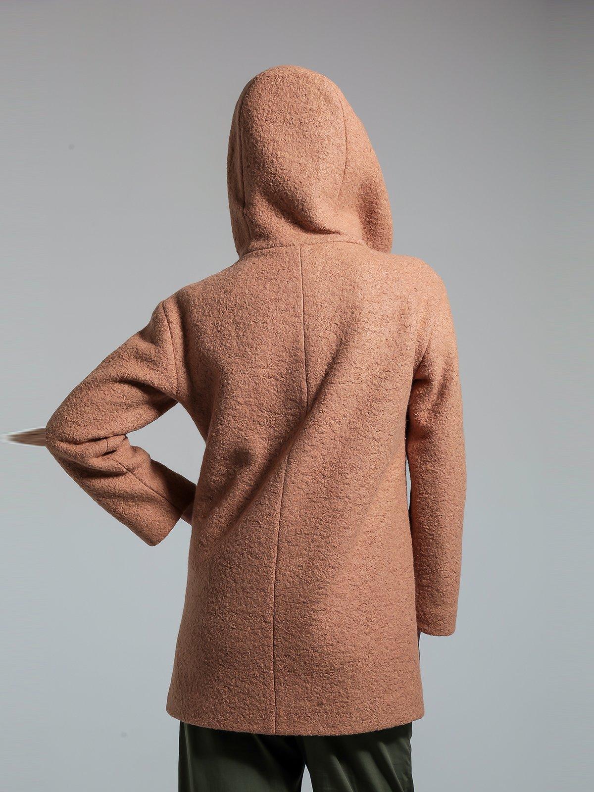 Пальто бежевое | 1891329 | фото 4