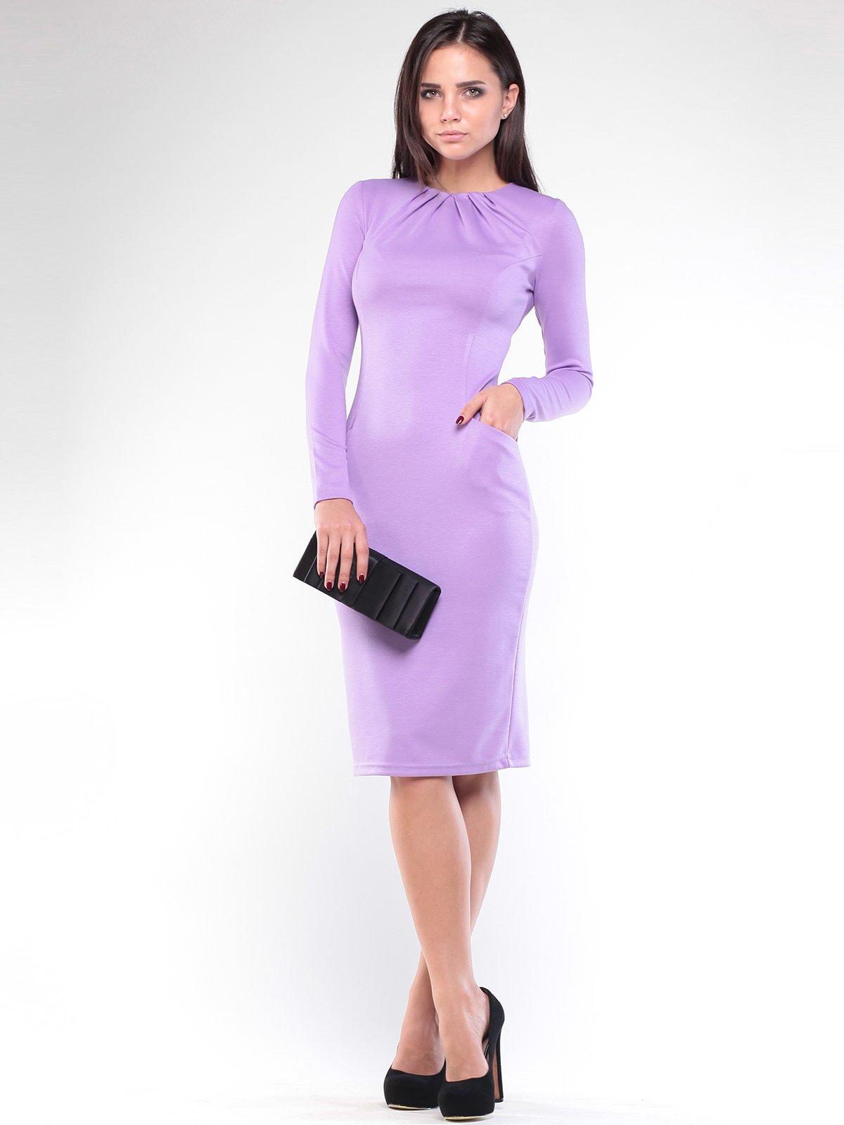 Платье сиреневое | 1896935