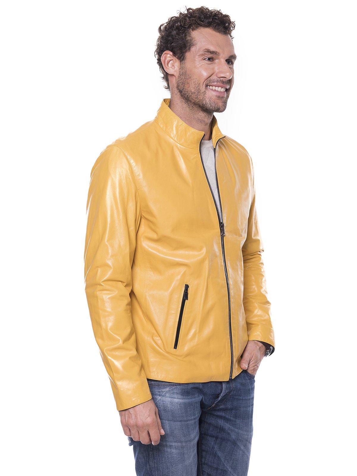 Куртка желтая | 1897549 | фото 4
