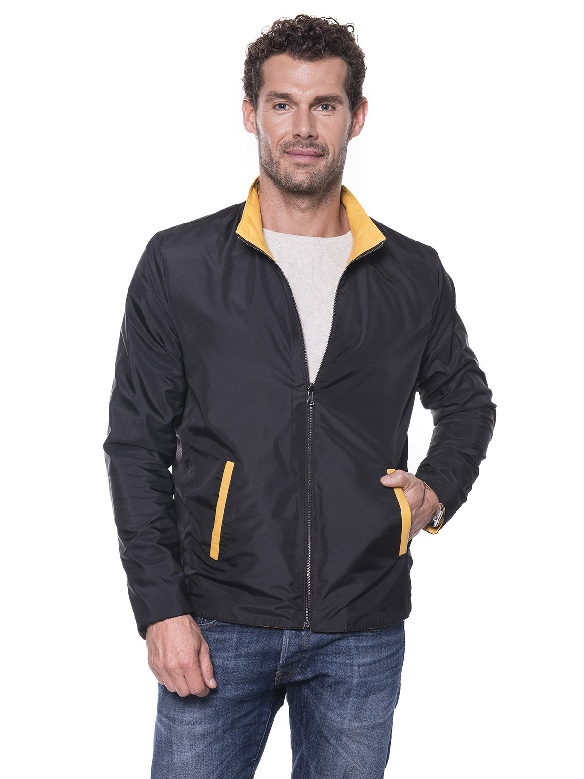 Куртка желтая | 1897549 | фото 7